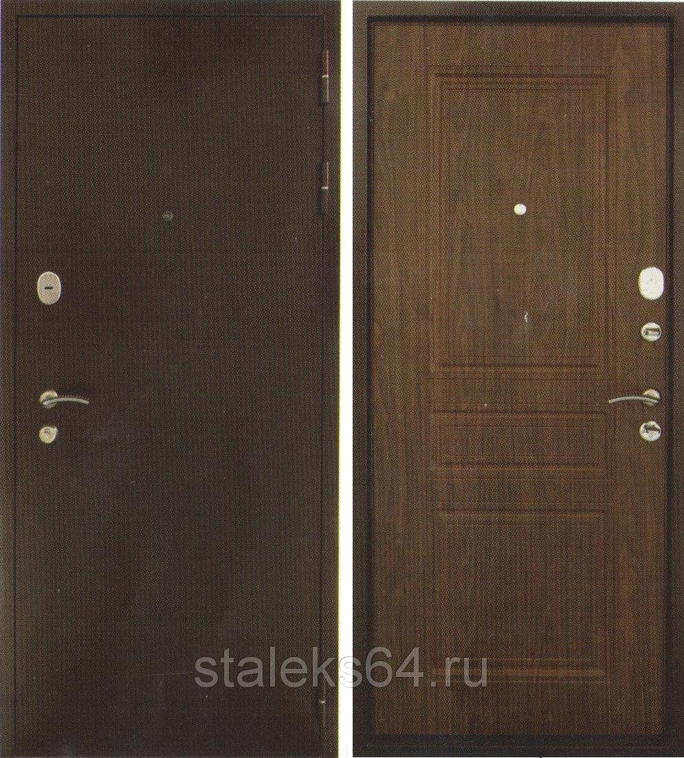 Дверь с шумо  и теплоизоляцией 3контура уплотнителя Дверь 80 мм