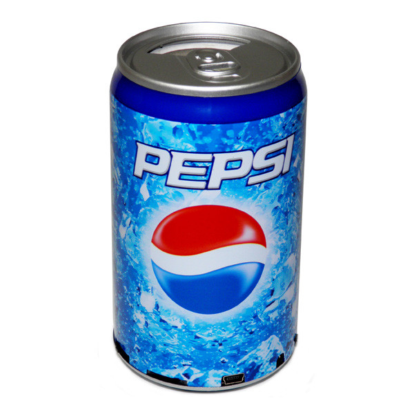 Мультимедиа центр Банка Pepsi (FM радио, читает с USB флешки и Micro SD карты)