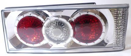 Задние фонари Torino хром для ВАЗ 2113, ВАЗ 2114 (Lada Samara 2) YZ LD T013