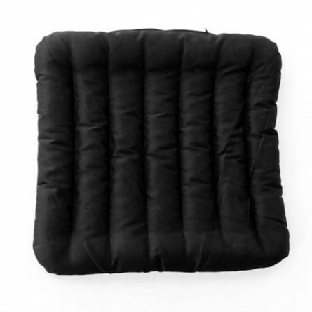Сиденье из лузги гречихи Классик (40х40), черный