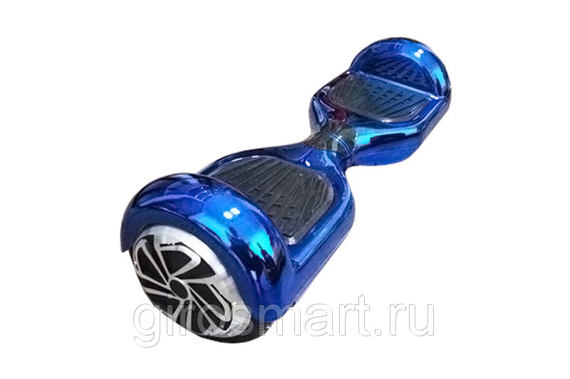 Гироскутер Smart Balance Синий хром Bluetooth APP
