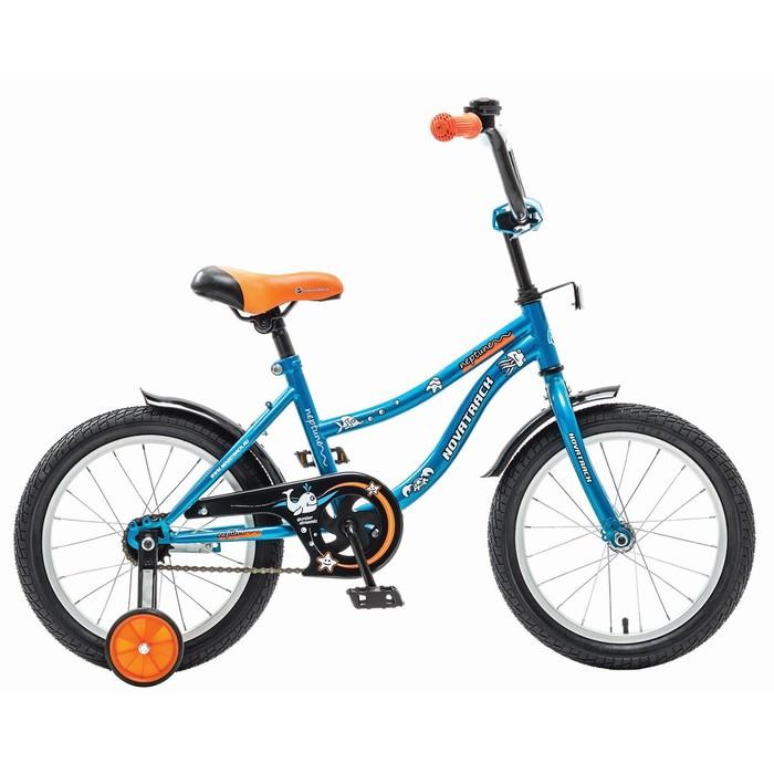 Велосипед 16 Novatrack Neptune, цвет синий