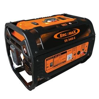 ERGOMAX ER 3400 E Бензиновый однофазный генератор электростартер