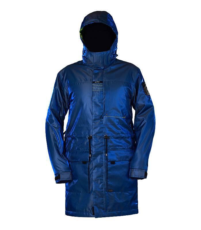 Куртка мужская VIRUS Kronik синяя металлик