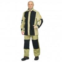 Костюм сварщика, брезент+спилок, куртка+брюки