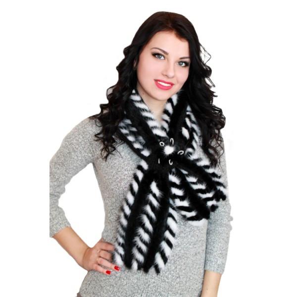 Меховой шарф Эйми