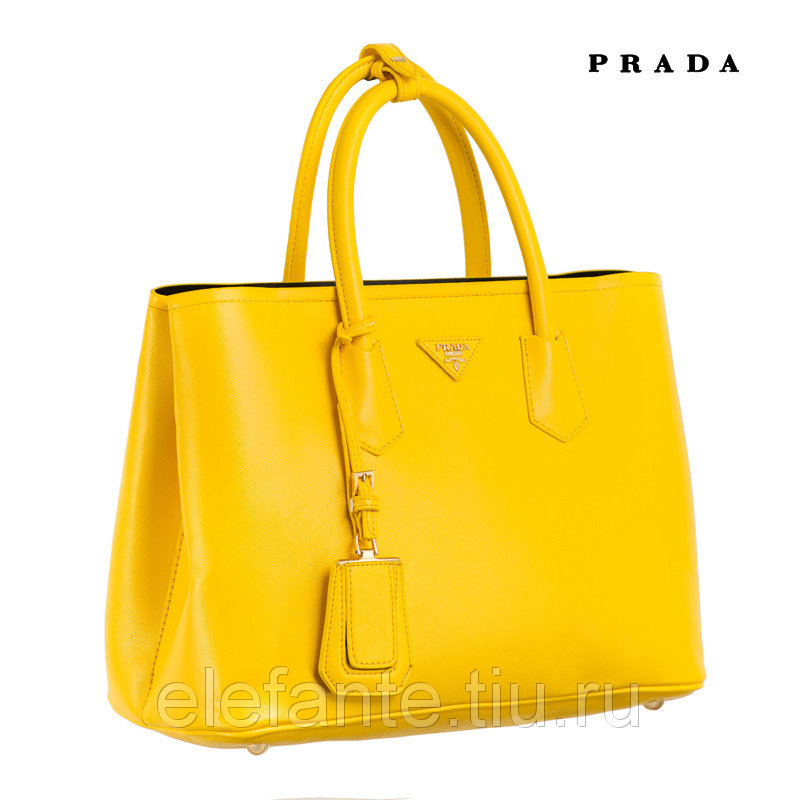 Сумка Prada 2756 yellow (10632)