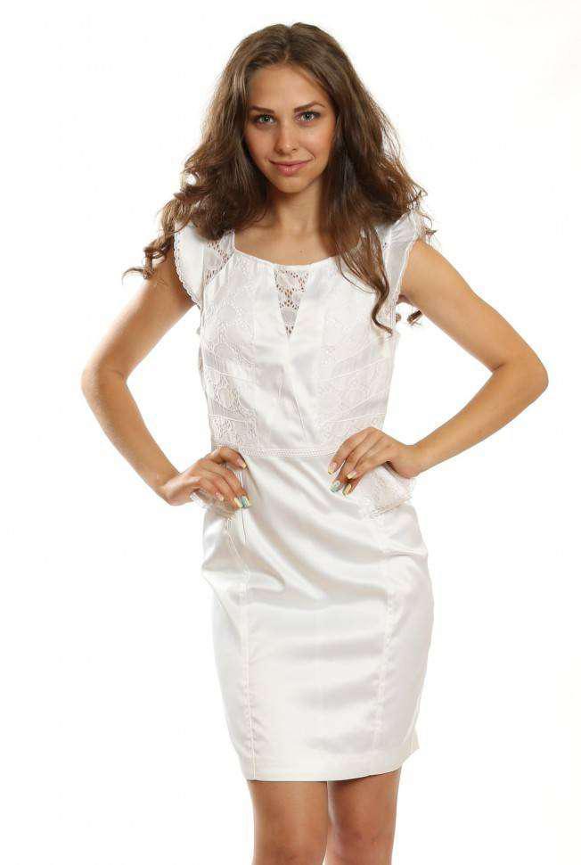Женское платье Karen Millen (белый, UK 10)