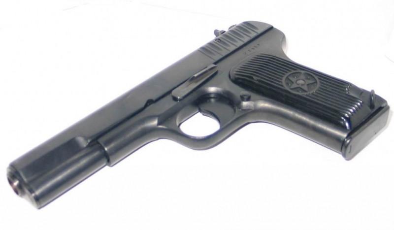 Пистолет ТТ детский металлический (цинковый сплав)
