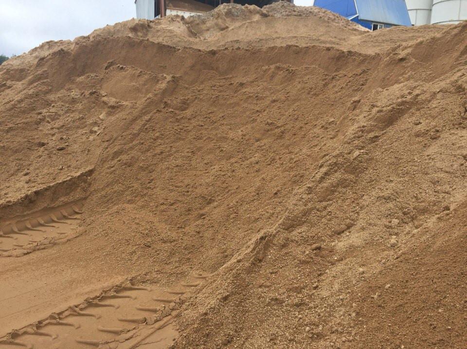 Песок карьерный мк 2, кф 4 мсут с доставкой