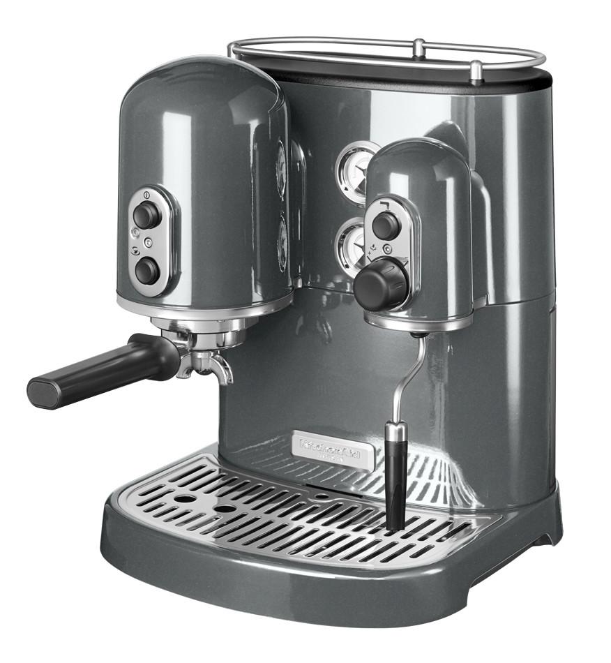 Кофемашина Artisan Espresso KitchenAid, 2 бойлера  цвет серебро