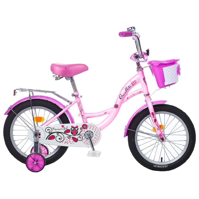 Велосипед 16 Graffiti Premium Girl RUS, цвет розовый