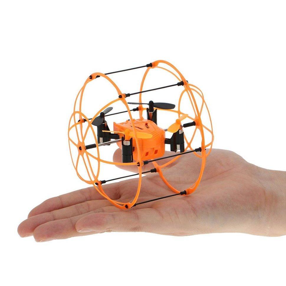 Радиоуправляемый квадрокоптер с защитной сеткой SkyWalker 24G   HM1336