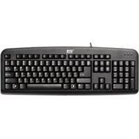 Клавиатура BTC 5211AU-BL, USB, черная, L-образный Enter