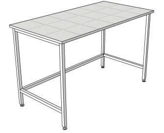 Стол лабораторный для муфельной печи (ЛАБ)