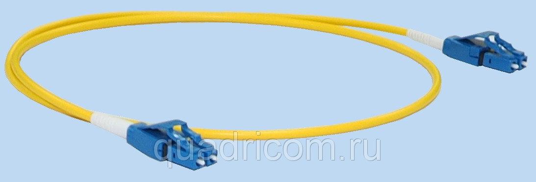 Патч корд LC LC дуплекс, 9125, OS2, 1м