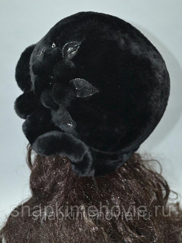 Меховая шляпа Венец из мутона