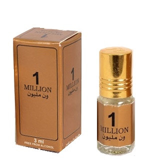 Масляные арабские духи 1 Million Zahra  1 Миллион 3 мл