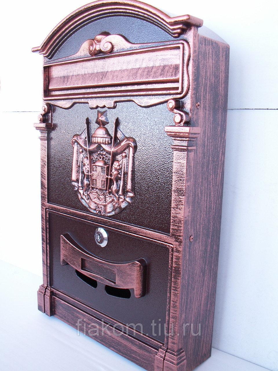 Почтовый ящик (шоколад+медь)
