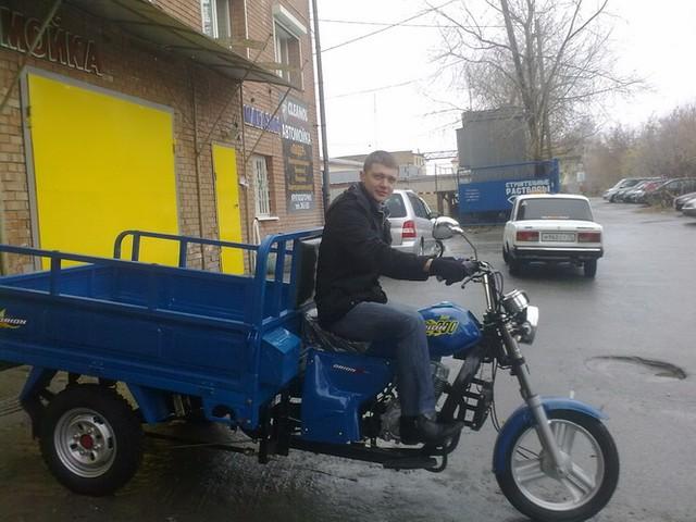 Трицикл ДЕСНА 200
