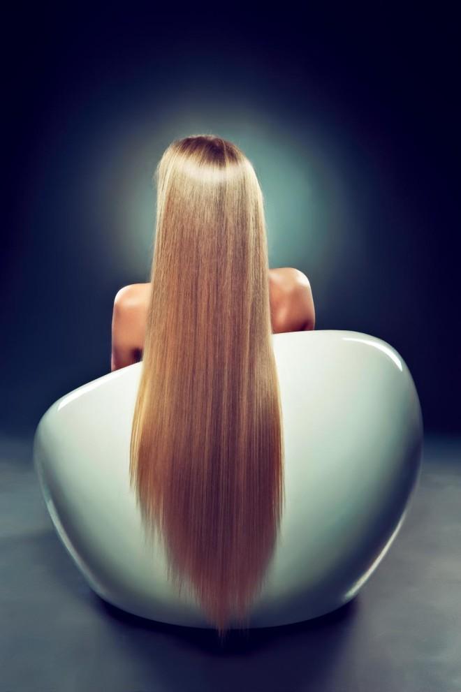Укладка волос повседневная