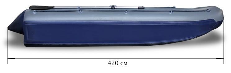 Надувной катамаран Флагман 420К