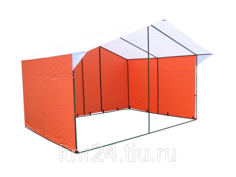 Торговая палатка «ДОМИК» 4 X 3 из квадратной трубы 20 Х 20 мм