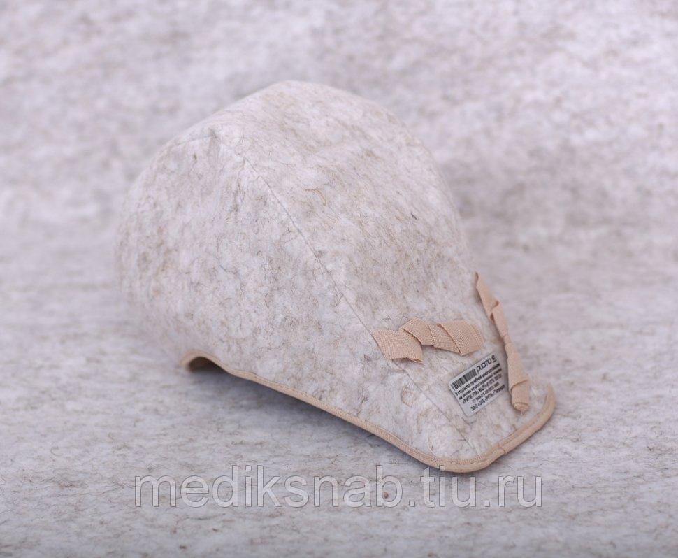 Шапочка и шапочка с удлинением на основе Одеяла лечебного многослойного (Шапочка обычная)