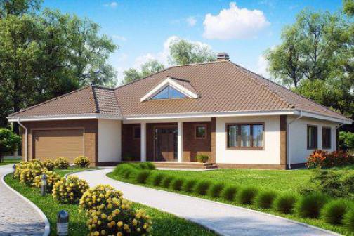 Проект дома 259 квм