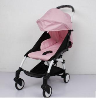 Коляска Yoya цвет нежно-розовый, 0+