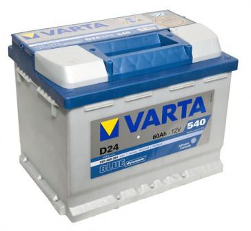 Аккумулятор Varta 60 A/h
