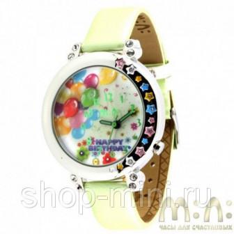Детские наручные часы Mini Watch MN980A с воздушными разноцветными шариками