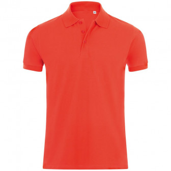 Рубашка поло мужская PHOENIX MEN, красная