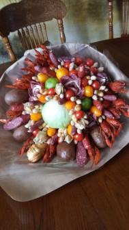 Букет из мясных деликатесов, колбасы, рыбы НижнийНовгород