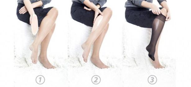 Толстые силиконовые накладки для ног