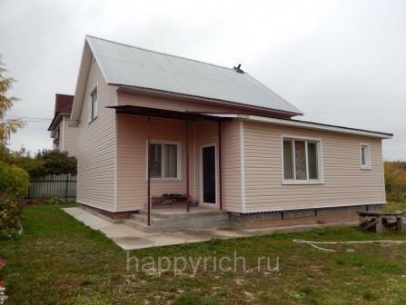Дом 129,8 кв м на участке 8 соток, гЧехов, ул Степанидина