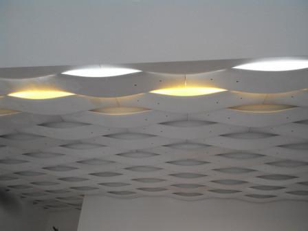 Гипсовые 3Д панели с LED подсветкой
