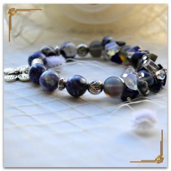 Чакровый браслет из натуральных камней