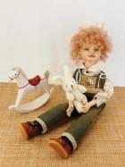 Рыжик интерьерная кукла