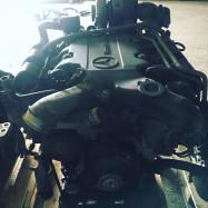 Двигатель Мерседес Актрос Ом 501 Mercedes