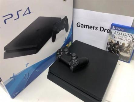 Playstation 4 slim 500gb гарантия 2 месяца + игра