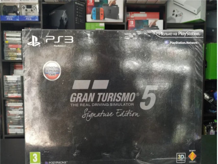 Gran Turismo 5 Signature Edition (PS3) новый