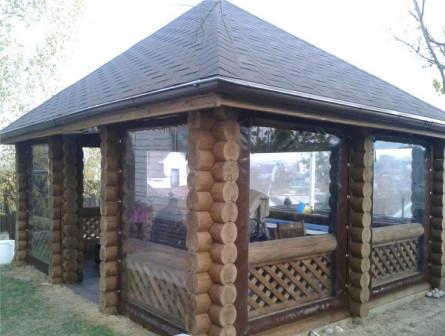 Мягкие окна пвх для домов, беседок и террас