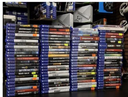 Игры для консоли PS4, опт, обмен, Traid In