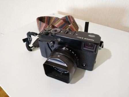 Фотоаппарат Fuji x-pro1 с объективом 18/2.0