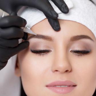 Перманентный макияж бровей - пудровые брови