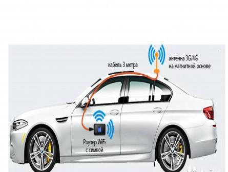 WiFi интернет в автомобиль