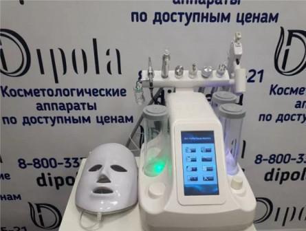 Аппарат для Гидропилинга 8в1 + микротоки+rfлифтинг