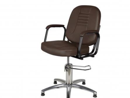 Кресло парикмахерское Бриз (гидравлика, хром)