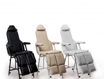 Педикюрное кресло(кушетка) с регулировкой высоты